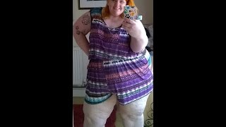 SHOWING MY SSBBW ROMPER SUIT !!