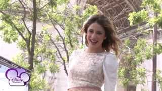 Violetta - Martina Stoessel à Paris - Surprise pour ses fans et son message personnel !