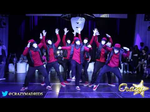 Jabbawockeez Tribute  Crazy Madrid 15 Enero 2014 video