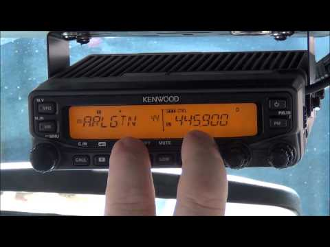 Setup Cross Band Repeater on Kenwood TM VT71A