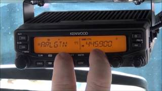 Setup the Crossband Repeater on a Kenwood TM VT71A - AF5DN