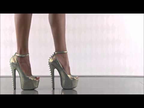 Models And Colors Of High Heels ❤ video