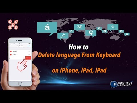 How to Delete A Keyboard Language on iPhone