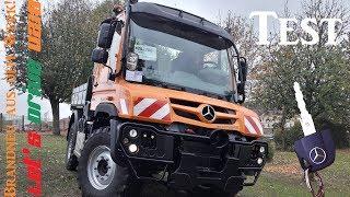Unimog U218 im Garten fahren!   Let´s drive UNIMOG #6