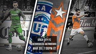 Utica City FC vs Mississauga MetroStars