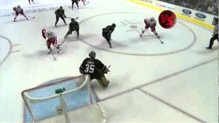Pavel Datsyuk Hat Trick (Game 3 2008 @ Dallas)