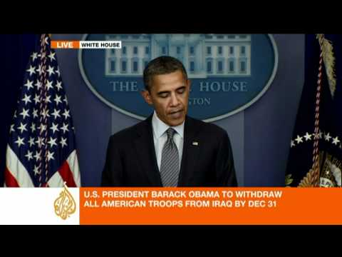 Obama: All US troops out of Iraq by year-end