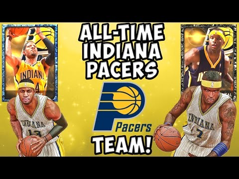 All-Time Indiana Pacers - NBA 2K15 MyTeam - Onyx Jermaine O'Neal and Sapphire Paul George