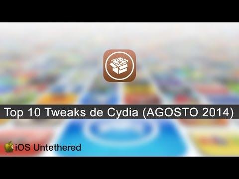[Cydia Tweaks] Top 10 - Los Mejores Tweaks de Agosto 2014 [Top 10]