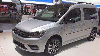 Volkswagen Caddy Edition 35 2.0 TDI Combi Van (2017) Exterior and Interior in 3D