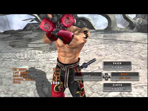 [tekken 5 Dr] Jin Kazama Episode 1, From 3rd Kyu To 2nd Dan Rank video