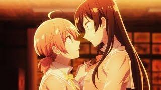 I think I'm Falling in Love with You ? Yuri Anime Scene !