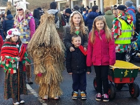 Whittlesey/Whittlesea Straw Bear 11 January 2014