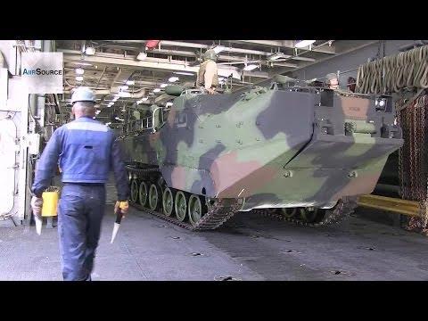 USS Pearl Harbor - Assault Amphibious Vehicle Operations