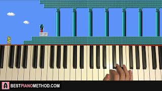 HOW TO PLAY - Zelda 2: The Adventure of Link - Temple/Palace Theme (Piano Tutorial Lesson)
