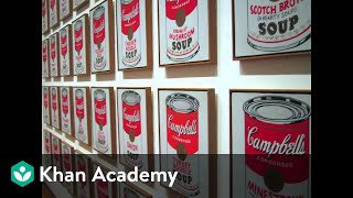 Why is this art? Andy Warhol, Campbell's Soup Cans | Art History | Khan Academy