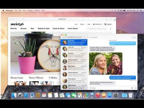 Apple OS X Yosemite İncelemesi