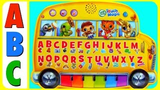 Learn ABC Alphabet With Leap Frog Touch Magic ABC Toy!  Alphabet ABC Song! ABC Kids, Toddlers, Babie