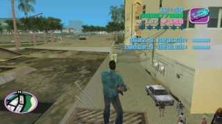 GTA Vice City glitch (solid bribe)