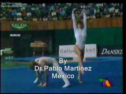 Nadia Comaneci en México 1994 Gala Gimnastica