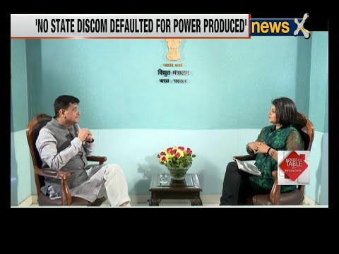 Across the Table with Piyush Goyal