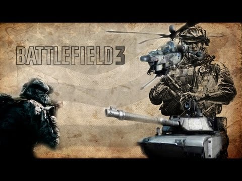 Battlefield 3 - Destroy - Tank e Helicptero