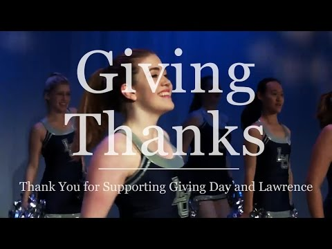 Giving Thanks: Giving Day 2016