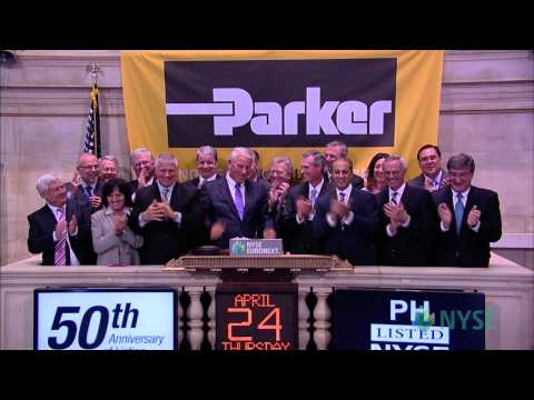 Parker Hannifin Marks 50 Years of Trading on the New York Stock Exchange
