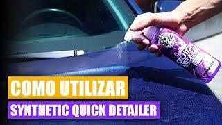 Como Utilizar Synthetic Quick Detail Spray - Chemical Guys Car Care