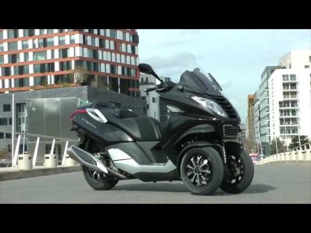 Vid�o Peugeot Metropolis 400  : L'anti Piaggio MP3 LT est l� !