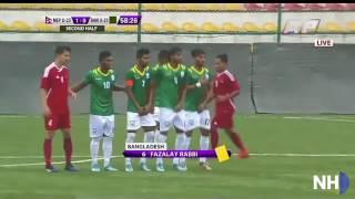 NEPAL VS BANGLADESH FOOTBALL HIGHLIGHTS 2017 JULY GAME