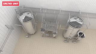 3D Milk Plant Animation - Dairy Milk Processing Manufacture Movie