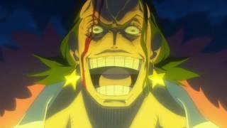 Luffy Gear Fourth vs Gild Tesoro - One Piece FIlm Gold