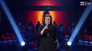 "The Voice of Italy - Suor Cristina Scuccia ""What a Feeling"" Flashdance Soundtrack"