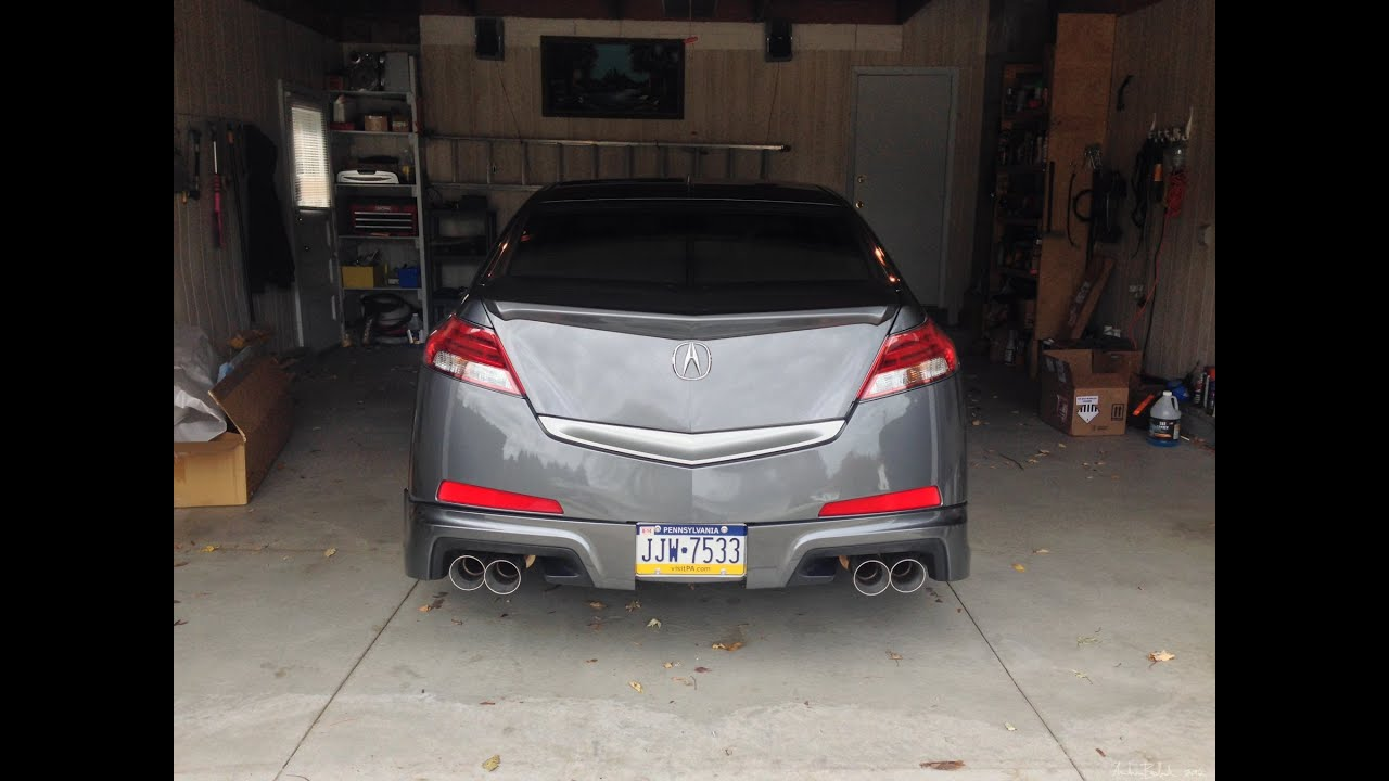 4G Acura TL w/ Magnaflow exhaust - YouTube