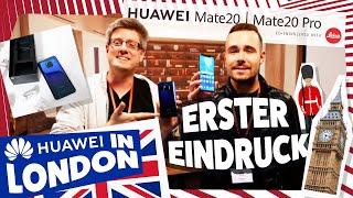 Huawei Mate 20 Pro Unboxing und unser erster Eindruck