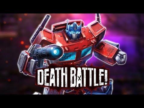 Optimus Prime Rolls Out for DEATH BATTLE!