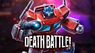 Optimus Prime Rolls Out for DEATH BATTLE!