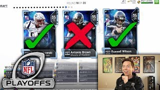 NFL Playoffs ONLY Draft!!  Madden 19 MUT DRAFT