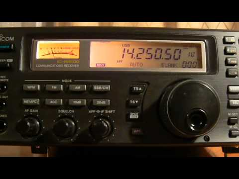 14250,50khz,Ham Radio,ZL1SLO(Auckland,New Zealand) 15-52UTC.