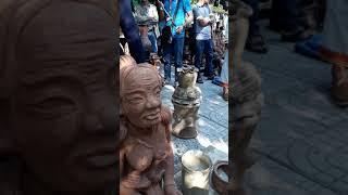 Tết Kate Ninh Thuận 2018. Mâm cơm cúng lễ hội