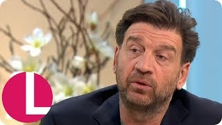 Nick Knowles Shows Off His Artistic Side   Lorraine