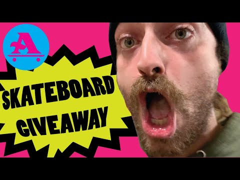 AIN SKATEBOARD GIVEAWAY & NEW ENGLAND AM BEHIND THE SCENES