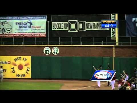 Hobson homers, Fisher Cats win 3-1 over Sea Dogs