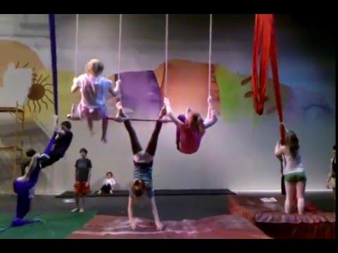 Madfest 2010 Middle School Triple Trapeze Act