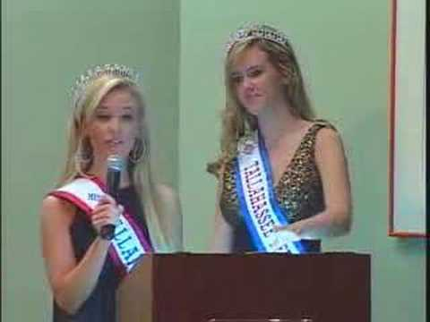 Miss Capital CIty/Tallahassee TEEN USA 10 Minute Pageant