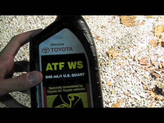 How to change transmission fluid in an 07 Toyota Tacoma V6 ...