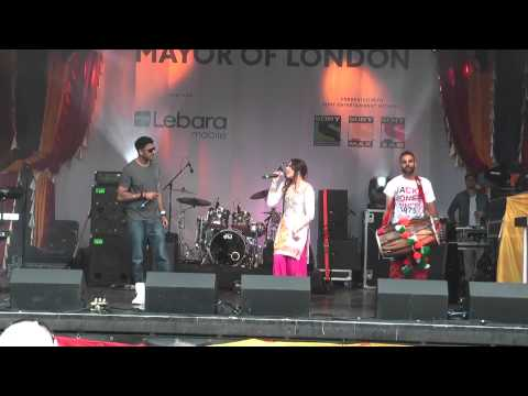 Enjoy Punjabi Bhangra Music Vaisakhi 2014 Trafalgar Sq London video