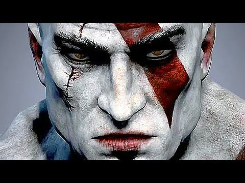 God Of War The Movie 2014 - God Of War 1, 2, 3, Ascension All Cutscenes Kratos From Ashes video