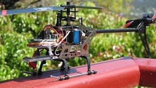 FX71 Single brushless motor conversion. Build, fly, crash!